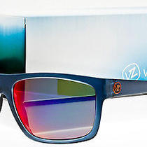 New Von Zipper Speedtuck Sunglasses Navy Satin / Galactic Red Glo Smsf5spe-Nvy Photo