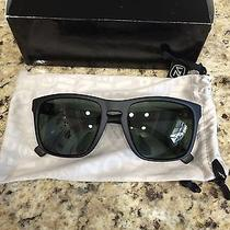 New Von Zipper Sunglasses-Lomax Black Satin Smpf1lom-Bsp/grey Polarized Rp  Photo