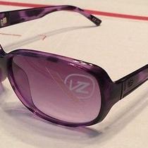 New Vonzipper Ling Ling Sunglasses - Violet Tortoise Frame - Gradient Lens - Vz Photo