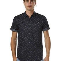 New Vonzipper Men's Garden Ales Ss Shirt Short Sleeve Cotton Mens Sweater Blue Photo