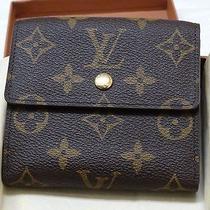 New W Box & Bag Louis Vuitton Monogram Porte-Monnaie Wallet/credit T61652 61652 Photo