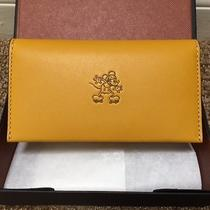New W/ Box Disney X Coach Mickey Phone Wallet  Flax Limited Editionsold Out Photo