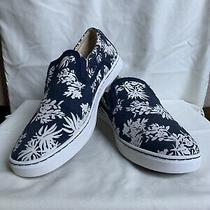 New W/out Box Ugg Slip on Sneakers Navy & Tan Tropical Pattern Women's Size 9 Photo