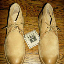 New W/tag Frye Mens Hudson Chukka Boots Gum Sole Desert Sz 10.5 D Photo