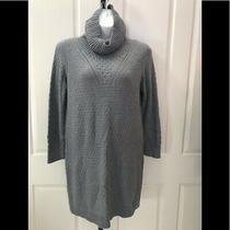 New W/tag-Womens Banana Republic Factory Gray Sweater Cowl Dress Xl Photo