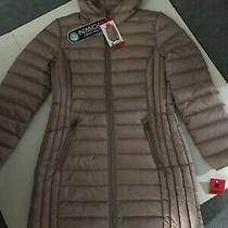 New W/tags Adventure Women's Ultra Light Down Jacket W/ Hood-Sz Mlight Blush Photo