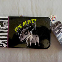 New W/tags Disney Tim Burton Frankenweenie It's Alive Hardcase Wallet  Claire's Photo