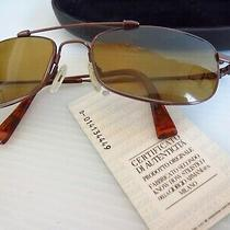 New W/ Tags Giorgio Armani Tortoise Frame Sunglasses Aviator Style D-014134449 Photo