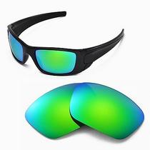 New Walleva Polarized Emeraldine Lenses for Oakley Fuel Cell Photo