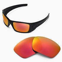 New Walleva Polarized Fire Red Lenses for Oakley Fuel Cell Photo
