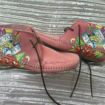 New  Wild Skin Ed Hardy Shoes Size 8 Photo