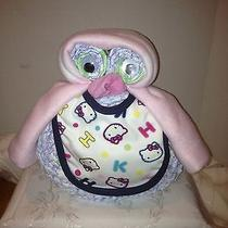 New Wise Owl Baby Hello Kitty Pamper Cake