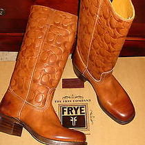 New With Box Coach Frye Campus Boots 7.5 Photo