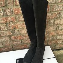 New With Box Dolce Vita Over the Knee Suede Boots Anthracite Color  Sz 8.5 Photo