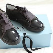 New With Box Lanvin Suede Sneakers 38 Photo