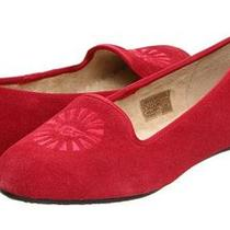 New With Box Ugg Australia Womens Alloway Suede Slippers Flat Shoes Size 6 7 Photo