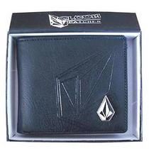 New With Gift Box Volcom Men's Surf Leather Wallet  051 Great Gift Photo
