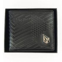 New With Gift Box Volcom Men's Surf Leather Wallet 211 Great Gift Photo