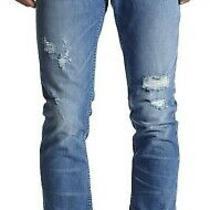 New With Tag - 229 Hudson Jeans Sartor Slouchy Skinny Raw Hem Jean Size 32 Photo