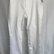 New With Tag. Abercrombie Fitch White Harper Stretchy Skinny Jeans Size 28 Photo