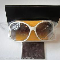 New With Tag New in Box Fendi Sunglasses White Photo