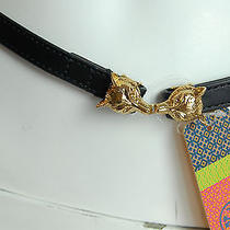 New With Tag Tory Burch Kissing Fox Belt Size Xs Rare Find Photo