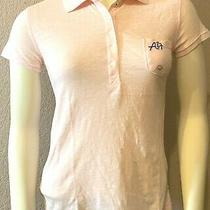 New With Tags Aeropostale A87 Women's Polo Shirt- Pink -Xlarge Photo