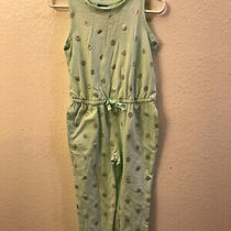 New With Tags Baby Gap Girl Mint Color Silver Polka Dot Romper Pants 3 Years Photo