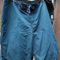 New With Tags Black & Blue Hurley Board Shorts Size 38 Photo