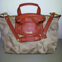 New With Tags  Coach Handbag With Plenty of Inside Storage Space. Photo