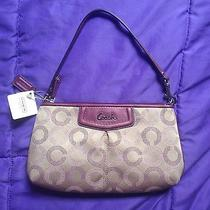 New With Tags Coach Small Purse Purple Photo