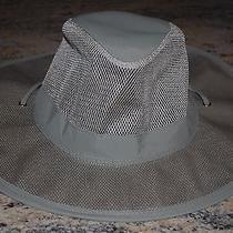 New With Tags  Dorfman Pacific Supplex Mesh Safari Hat Fossil Olive Xl Photo