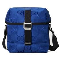 New With Tags Dust Bag Gucci Gg Off the Grid Messenger Bag 890 Blue Gg Econyl Photo