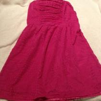 New With Tags  Express Pink Print Party Dress Size Xs Photo
