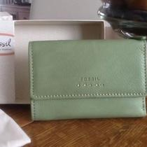 New With Tags Fossil Popstitch Multi Lime Wallet Photo