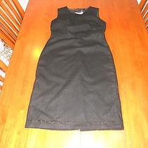 New With Tags Gap Womens Dress Size 1 Black Lined Cute Photo