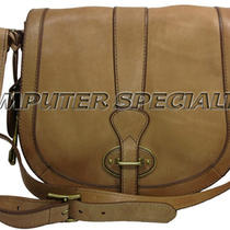 New With Tags Genuine Fossil Leather Vri Flap Tan Purse Zb5187231 Photo