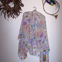 New With Tags Gottex Silk Sarong Scarf Shawl Wrap  Photo