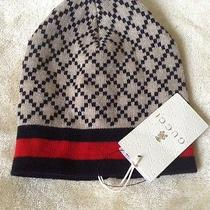 New With Tags Gucci Baby Boys/girls Baby Hat Beanie Photo