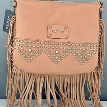 New With Tags Guess Handbag Ladies Pavillia Shoulder Bag Blush Purse Photo