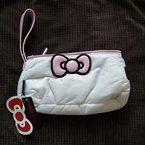 New With Tags Hello Kitty Ball Tee Golf Pouch Bag Purse Clutch Photo