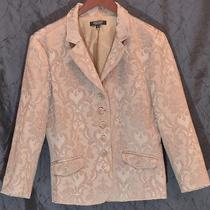 New With Tags--Karen Kane Tuscan Sunrise Brocade Jacket Blazer  Sz 10 Rtl 178 Photo