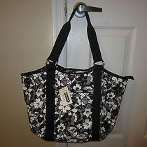 New With Tags Lesporsac Carryall Tote Shadow Blossom Photo