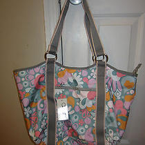 New With Tags Lesporsac Carryall Tote Swoop  Photo