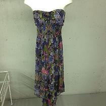 New With Tags Macy's American Rag Floral Body Suit Dress - Small Photo