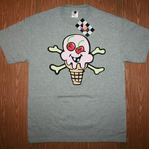 New With Tags Mens Heather Grey Ice Cream