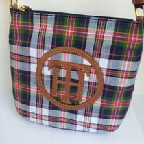 New With Tags Tommy Hilfiger  Classic Plaid Shoulder Bag Purse Handbag Hobo Photo