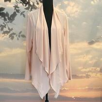 New With Tags Torrid Crepe Drape Front Blazer Blush Pink 3x Photo