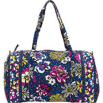 New With Tags Vera Bradley African Violet Large Duffel  Duffle Photo