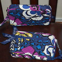 New With Tags Vera Bradley African Violet  Smartphone Wristlet 2.0 Photo